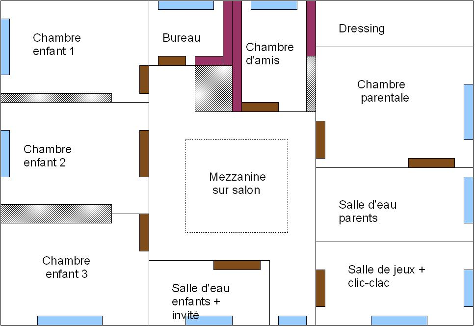 good de plan plan de maison de luxe with plan maison 70m2. Black Bedroom Furniture Sets. Home Design Ideas